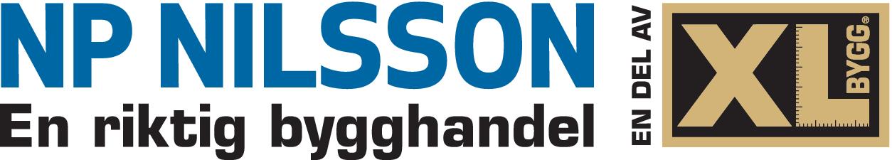 NP Nilsson en del av XL-BYGG logo