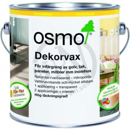 Dekorvax Transparent Ebenholts 0,125L