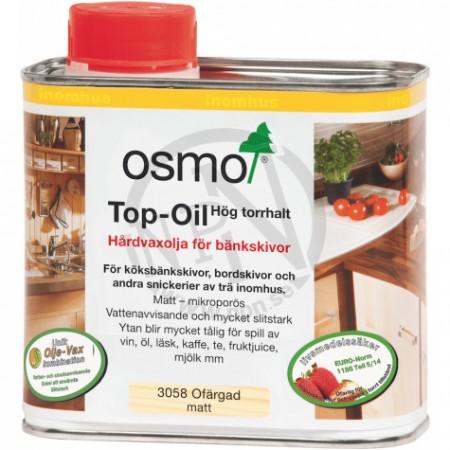 Hårdvaxolja Top-Oil Ofärgad 0,5L