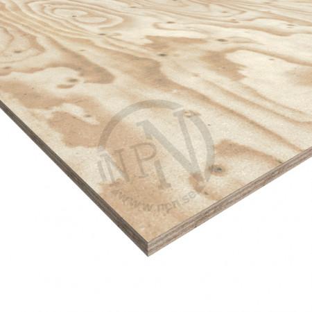 Plywood vänerply k20/70 c+/c ts 21x2500x1200