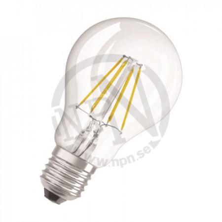 LED-Lampa Osram Retro Normal Dim Klar 7w cl a e27 827 (60)