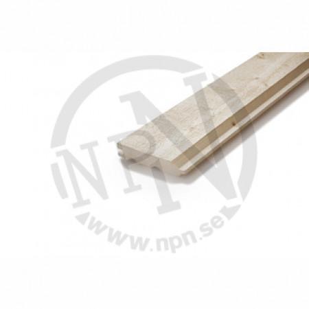 22x120mm enkelfas spont gran l=3,6 g4-2 grundmålad vb2345