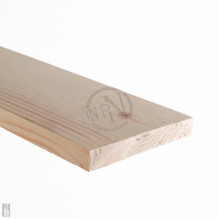 Bräda 22x145mm Klädselbräda Gran L=4,2