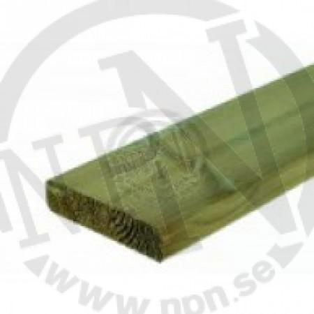 Grönimpregnerad Planhyvlad Fasad Furu NTR A 70x70mm L=2,4