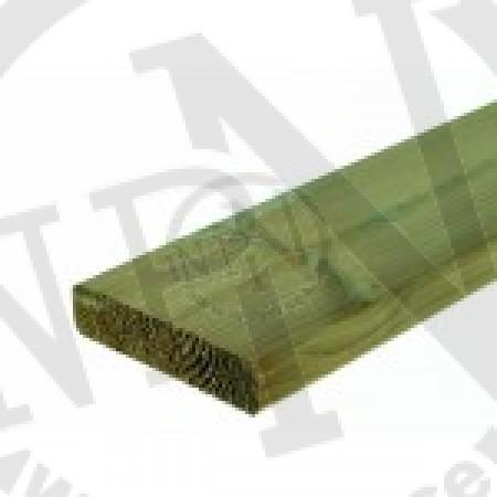 Grönimpregnerad Planhyvlad Fasad Furu NTR A 70x70mm L=4,8