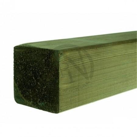 Grönimpregnerad Planhyvlad Fasad Furu NTR A 95x95mm L=4,8