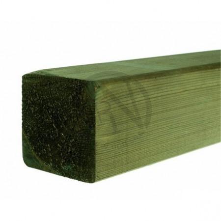 Grönimpregnerad Planhyvlad Fasad Furu NTR A 95x95mm L=5,1