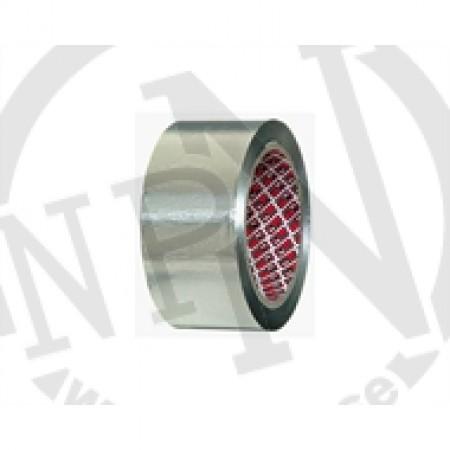 Aluminiumtejp Blank 50 mm 10 m