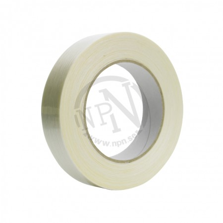 Bandningstejp Glasfiber Transparent 19 mm 50 m
