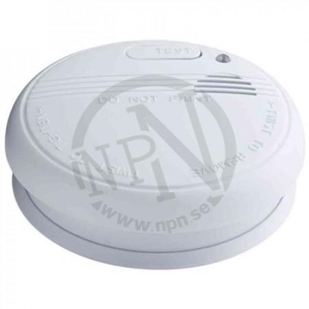 Brandvarnare optisk inkl batteri 9v