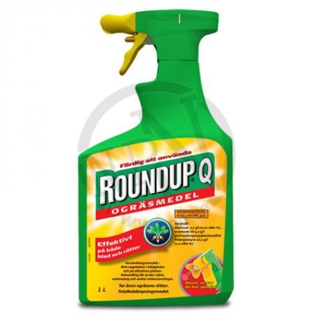Ogräsmedel quick spray 1l roundup regnr 4562