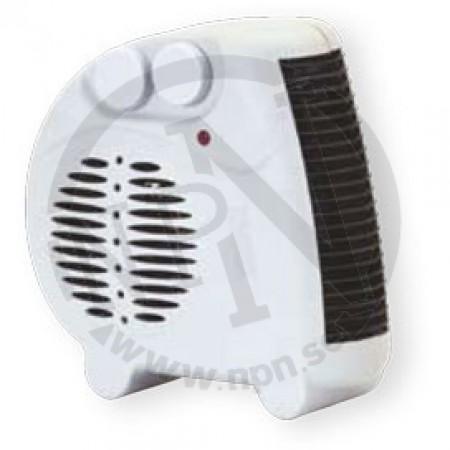 Värmefläkt 1000/2000W 250x250x110mm