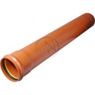 Markrör PVC 110x6000mm