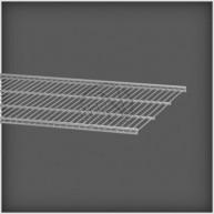 Trådhylla Platinum 900x405mm