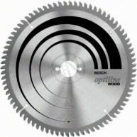 Cirkelsågklinga trä 254x2x30mm 60t-5gr