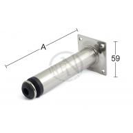 Bordsben 511 Mattnickel 30x800mm