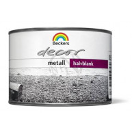 Dekorfärg decor metall silver 0,5l