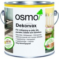 Dekorvax Transparent Ebenholts 0,125L