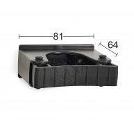 Redskapshållare 522 Svart 30-40mm