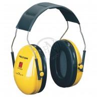 Hörselkåpa Optime 1 Gul Hjässbygel