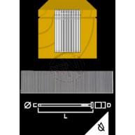 Minidyckert Elförzinkad Bandad 40x1,2mm 5000st