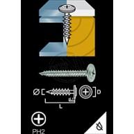 Montageskruv ELFZ 4,2X65MM 10ST