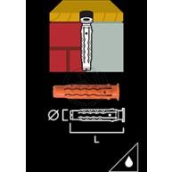 Nylonplugg MQ 10X50MM 4ST
