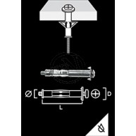 Metallexpander MHD-S Elförz 6/16E 4ST