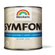 Lackfärg Symfoni Blank 1 Vit 1L