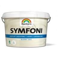 Lackfärg Symfoni Blank 1 Vit 3L