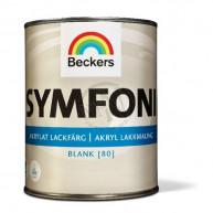 Lackfärg Symfoni Blank Bas a 0 0,9L