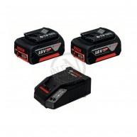 Batteriset 18V-LI 2X4,0AH Med Laddare