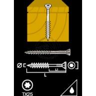 Trallskruv PRO Hardwood Torx Utvändig Trä 5,5-60 150ST PKT