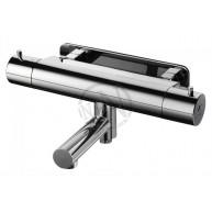 Badkarsblandare evm 022-160 termostat c/c 160mm krom
