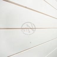 Innerpanel laserad vit v-fas a 15x120mm