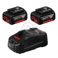 Batteriset LI 2X6AH M Laddare 18V