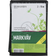 Markväv Svart 2x10m 20m2 110g/m2