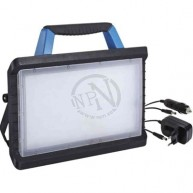 Arbetslampa LED Batteridriven IP54 6500K 30W