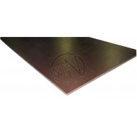 Formplywood björk mörkbrun fenol 2-s 120g 12x1200x2500mm