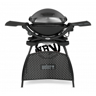 Elgrill Weber Q 2400 Dark Grey m/Ställ 55x39cm