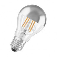 Led-lampa osram cl a (51) norm toppförsp silver filam e27 7w
