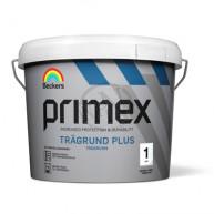 Trägrundfärg Primex Plus Vit 1L
