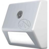 Ledlampa Nightlux Vit Stair Inkl 3st AAA Batteri Osram