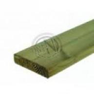 Grönimpregnerad Planhyvlad Fasad Furu NTR A 70x70mm L=2,7