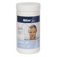 Kemikalie Sänker pH Nitor 1.5kg