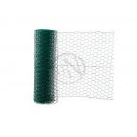 Sexkantsnät Plastbelagt 500x25 10M
