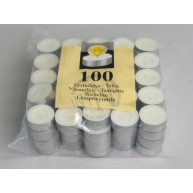 Värmeljus Vita 100-Pack