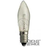 Glödlampa E10 34V 3W Klar 3-Pack