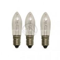 Glödlampa E10 14V 3W Klar 3-Pack