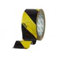 Varningstejp Gul/Svart 50 mm 33 m